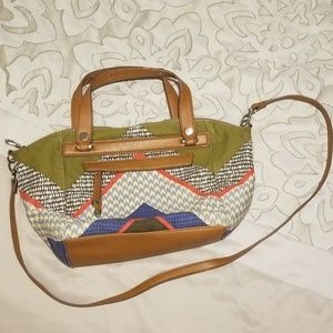 Relic Patterned Satchel